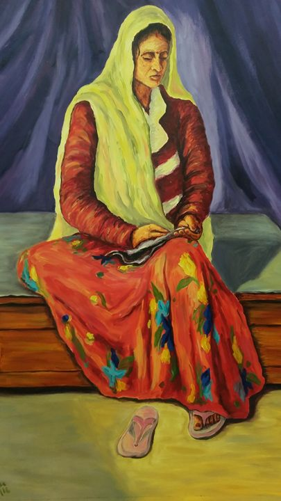 Love to sewing -  Pragyashree30