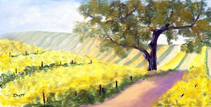 Vineyard I - DianaTripp Fine Art Gallery