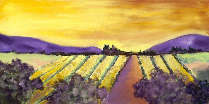 Vineyard II - DianaTripp Fine Art Gallery