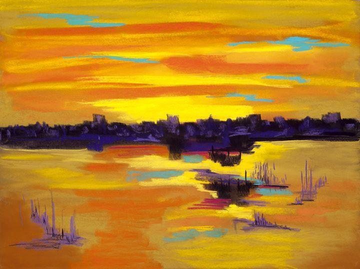 A Skyline Somewhere - DianaTripp Fine Art Gallery