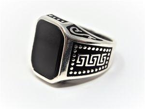Handmade Black Onyx Ring