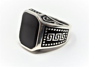 Handmade Black Onyx Ring - MW Gallery
