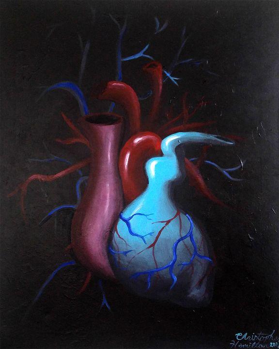 Telltale Heart - Chamiltonart - Artist Christopher Hamilton