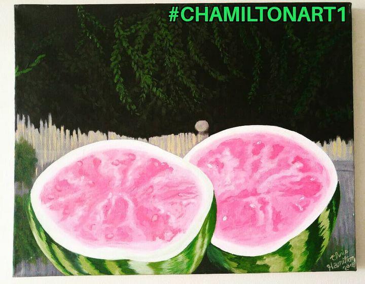 Summertime Treat - Chamiltonart - Artist Christopher Hamilton