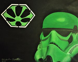 Kawasaki Green Imperial Stormtrooper