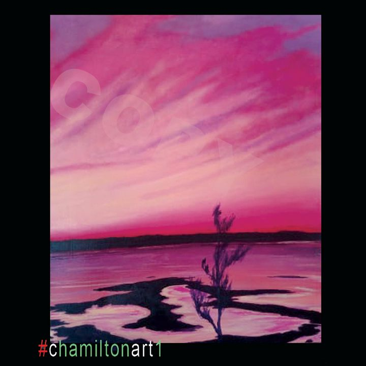 Rush Hour in Yarmouth, NS - Chamiltonart - Artist Christopher Hamilton