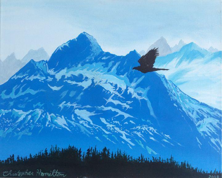 Eagle Vision - Chamiltonart - Artist Christopher Hamilton