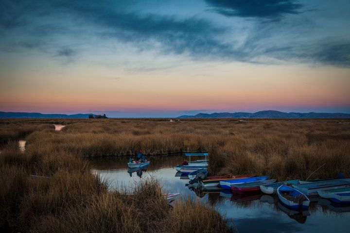 Puno Sunset - James A. McKnight Photography