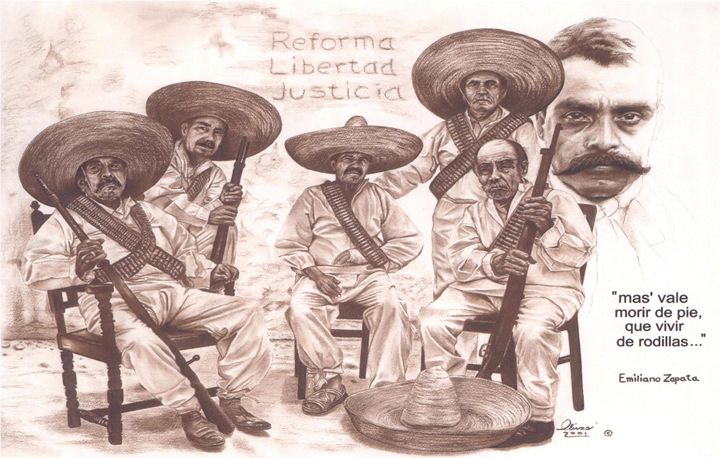 Zapata and Friends - 'The Olivas Collection'