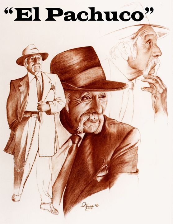 """El Pachuco"" - 'The Olivas Collection'"