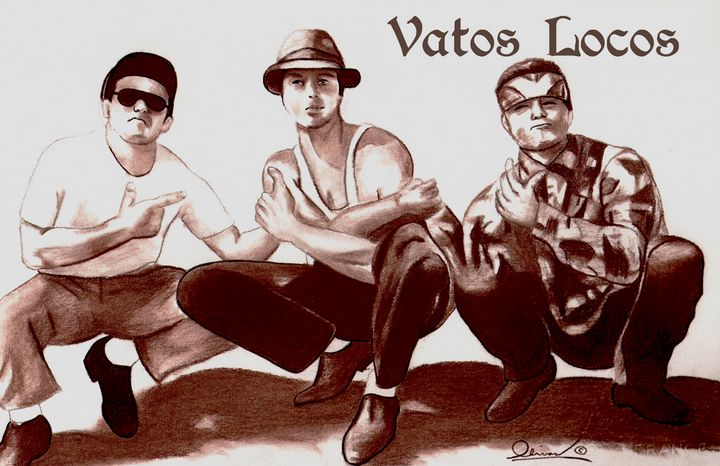 Three Vatos from Blood In Blood Out - 'The Olivas Collection'