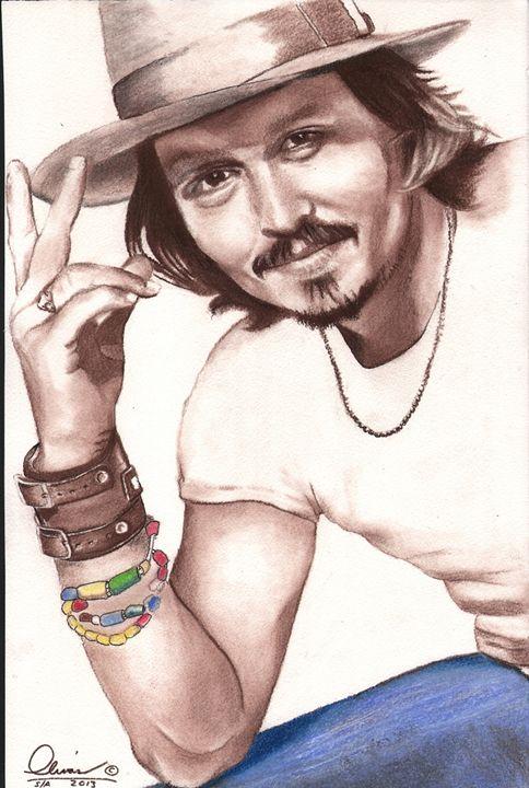 Johnny Depp #2 - 'The Olivas Collection'