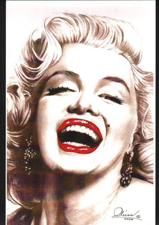 Marilyn Monroe #2 - 'The Olivas Collection'