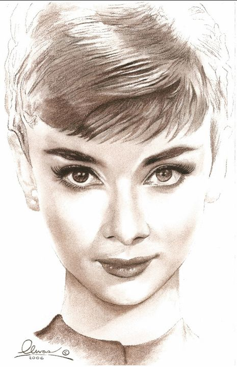 Audrey Hepburn #2 - 'The Olivas Collection'