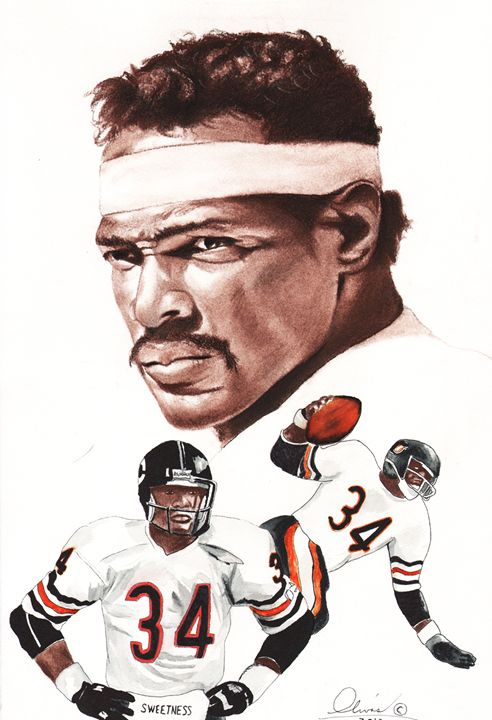 Walter Payton - 'The Olivas Collection'