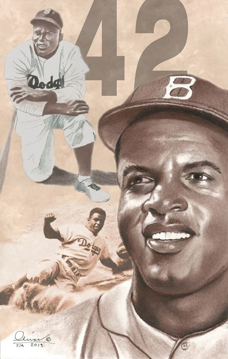 Jackie Robinson - 'The Olivas Collection'