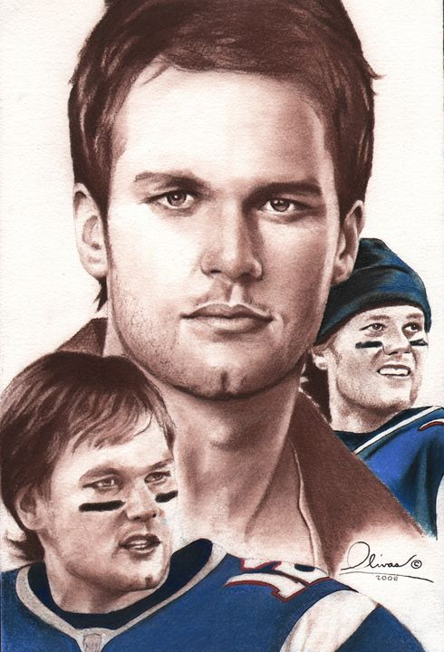 Tom Brady #1 - 'The Olivas Collection'