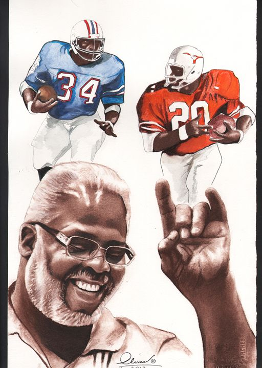 Earl Campbell - 'The Olivas Collection'