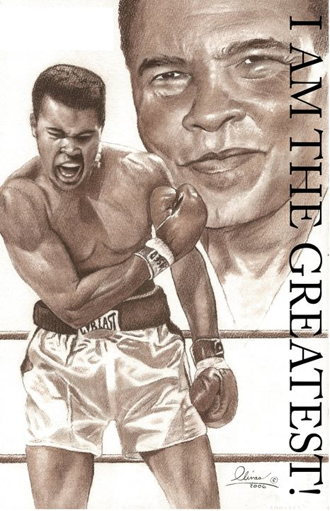 Muhammed Ali - 'The Olivas Collection'