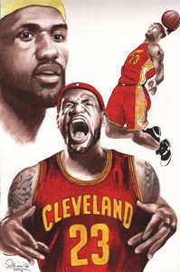 LeBron James#2 - 'The Olivas Collection'