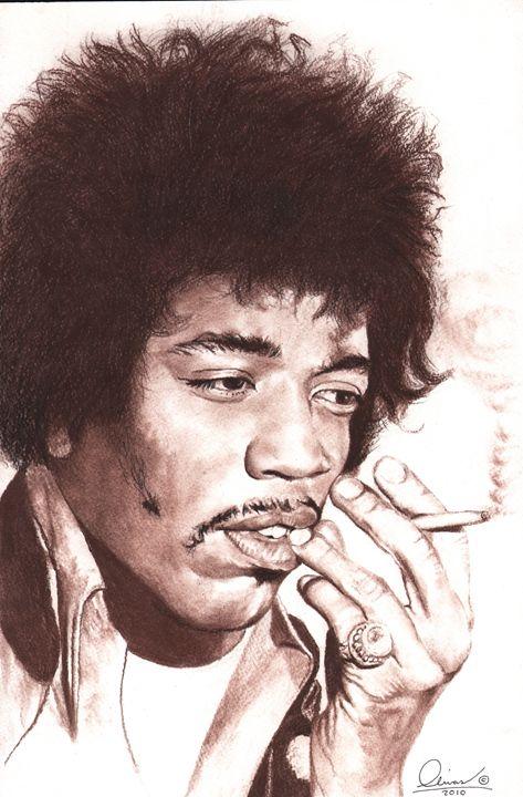 Jimi Hendrix#1 - 'The Olivas Collection'