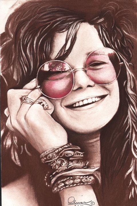 Janice Joplin #1 - 'The Olivas Collection'