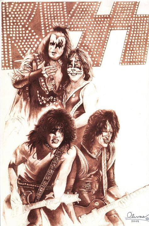 Kiss - 'The Olivas Collection'