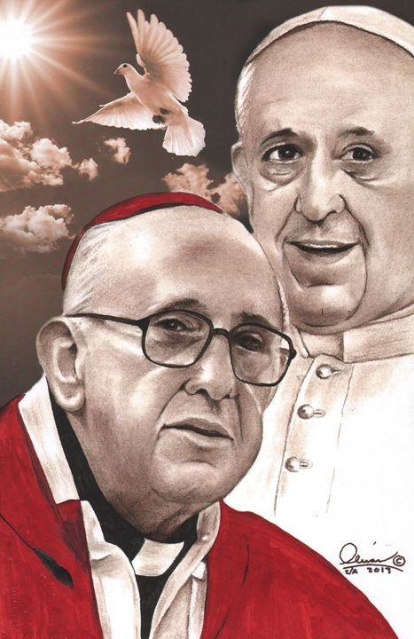 Pope Francis - 'The Olivas Collection'