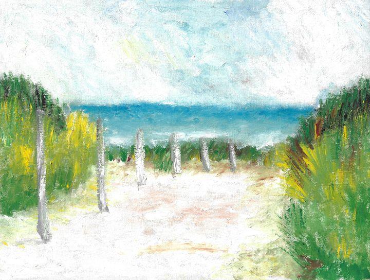 """""""Beach"""" - GagaForArt"""