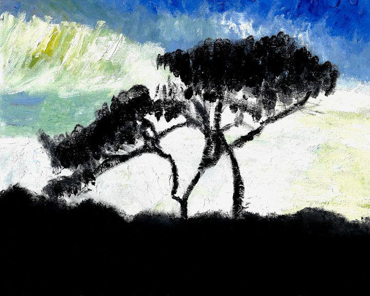 """""""Shadow of Tree"""" - GagaForArt"""