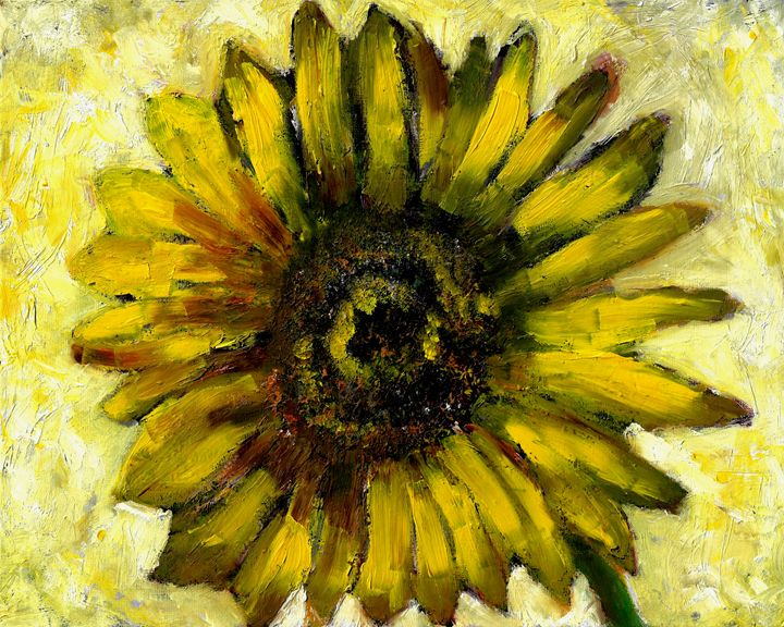 """Sunflower 5"" - GagaForArt"