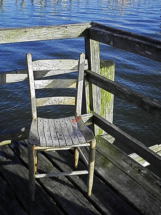 DOCK CHAIR - C. A. Cerreto Art & Photography