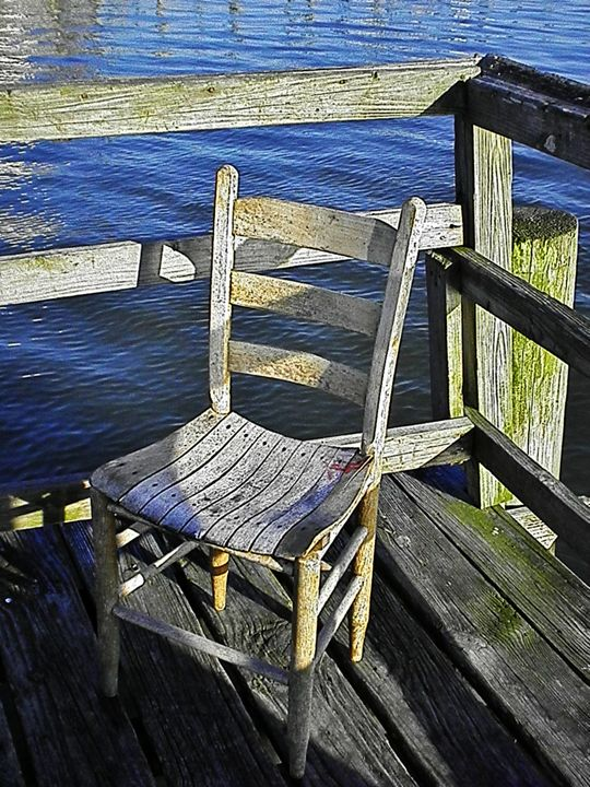 DOCK CHAIR 2 - C. A. Cerreto Art & Photography