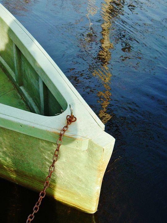 ROWBOAT ON BLACK WATER - C. A. Cerreto Art & Photography