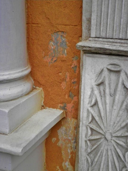 DETAIL AND STUCCO - C. A. Cerreto Art & Photography
