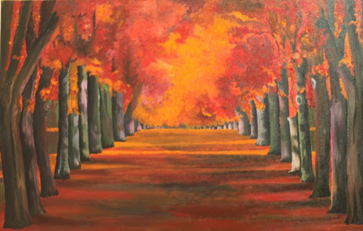 The Passage - Colorskart by Artist Sapna Amit kumar