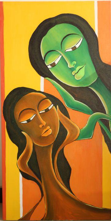 Bonhomie - Colorskart by Artist Sapna Amit kumar