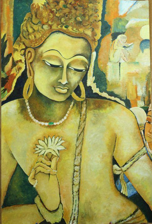 Padampani Bodhisatva - Colorskart by Artist Sapna Amit kumar