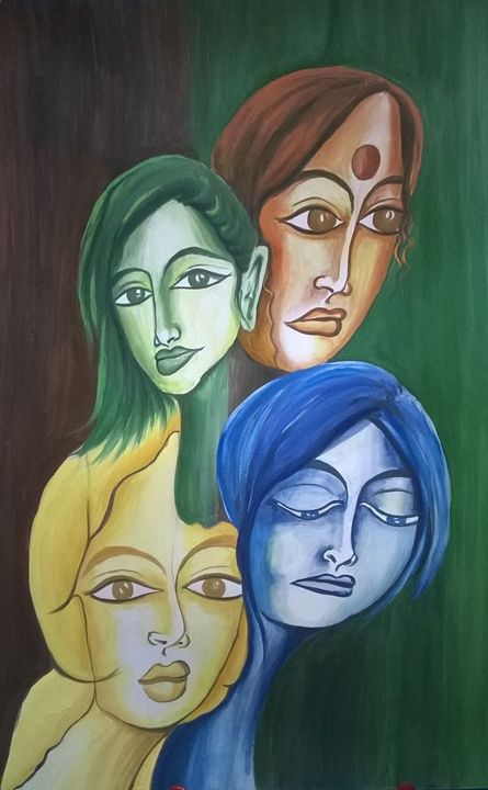 Various Moods - Colorskart by Artist Sapna Amit kumar