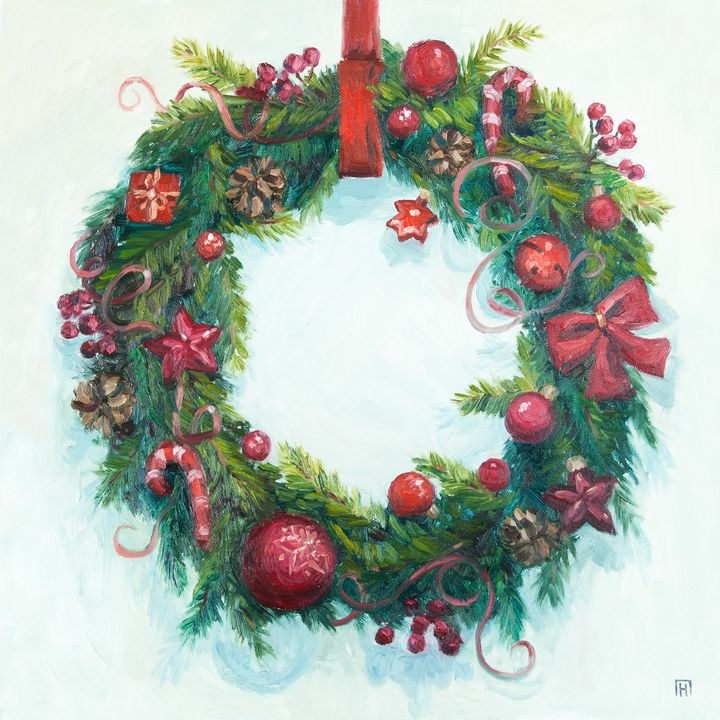 Christmas wreath - Prokudina Natalia