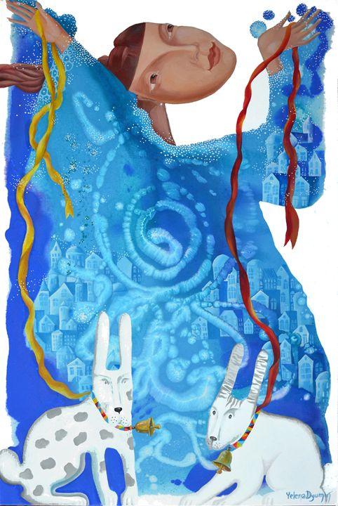 Fantasy swirl - Yelena Dyumin