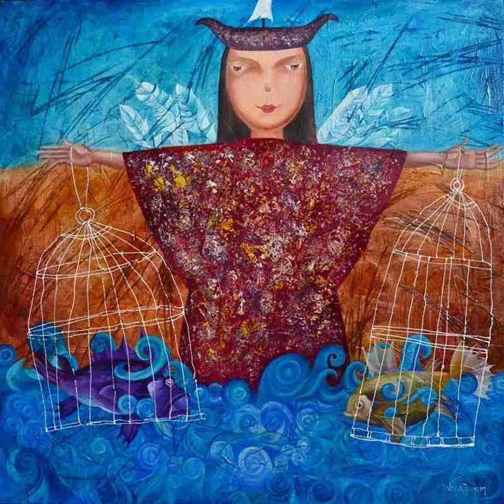 Lucky catch - Yelena Dyumin