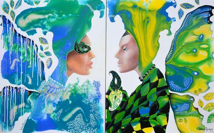 Face to face - Yelena Dyumin