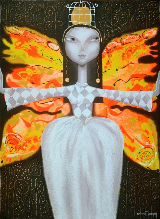 Mademoiselle butterfly - Yelena Dyumin
