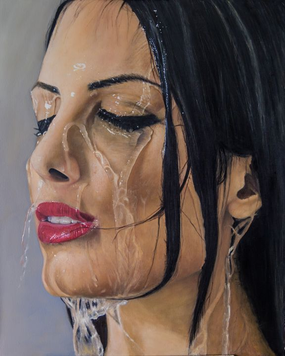 Wet portrait - samuel hagag