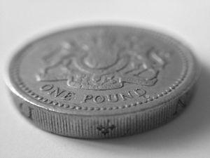 One Pound Macro shot