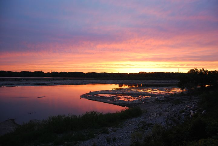 Sunset Reflections - Michael Harrington
