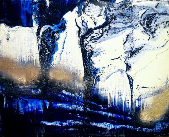 Midnight Waters - Amber Lamoreaux Art