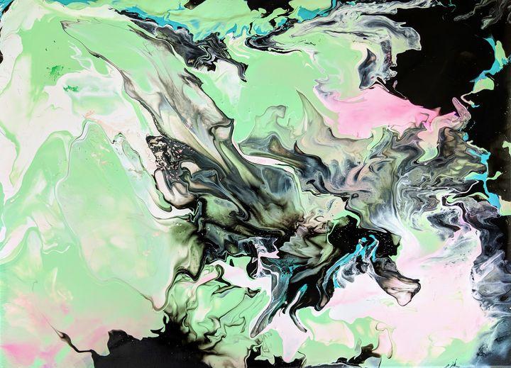 Beautiful Enigma - Amber Lamoreaux Art