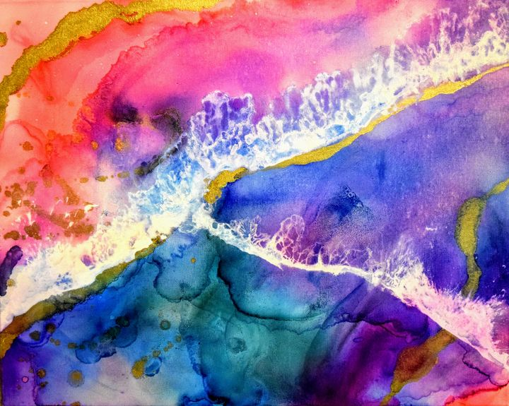 Infusions of Love - Amber Lamoreaux Art